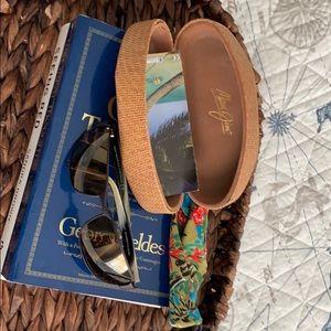 Maui Jim Black Coral bronze sunglasses. MJ-249-19m